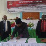 DPRD Nduga Gelar Sidang Pengusulan Wakil Bupati Menjadi Bupati Nduga
